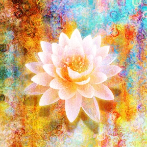 spiritual-abstract-art-paintings-print-canvas-joy-of-life-lotus-flower